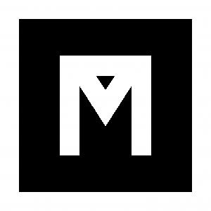 RMG logo en blanco